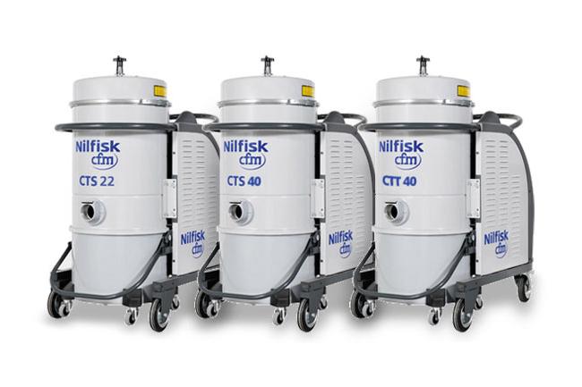Aspiratori Nilfisk-CFM Serie CTT - CTS