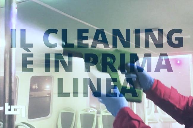 Il cleaning è in prima linea-Evinenza