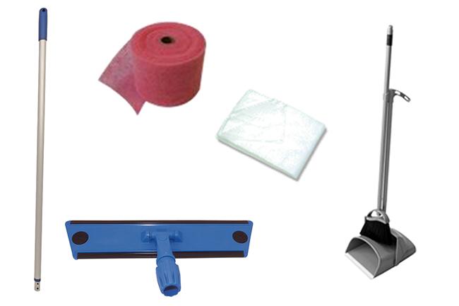 Kit scopatura per la pulizia manuale