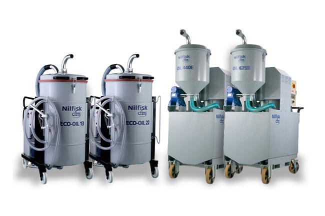 Aspiratori Nilfisk-CFM Serie Oil ed Eco-oil