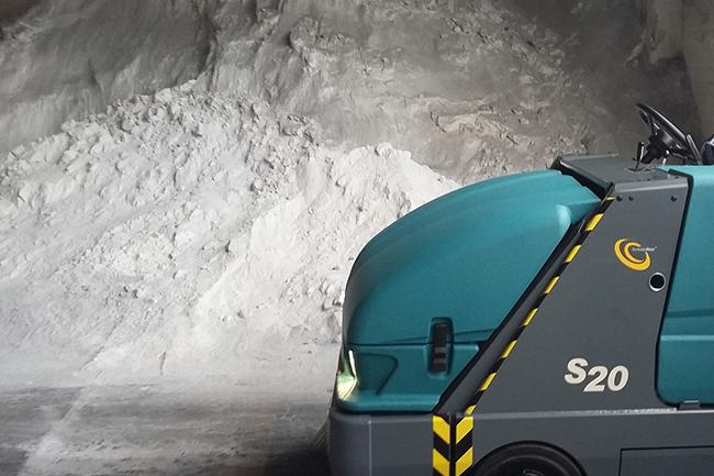 S20 in miniera di talco