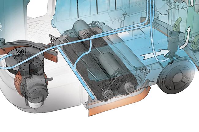 T12 testata cilindirica illustrazione