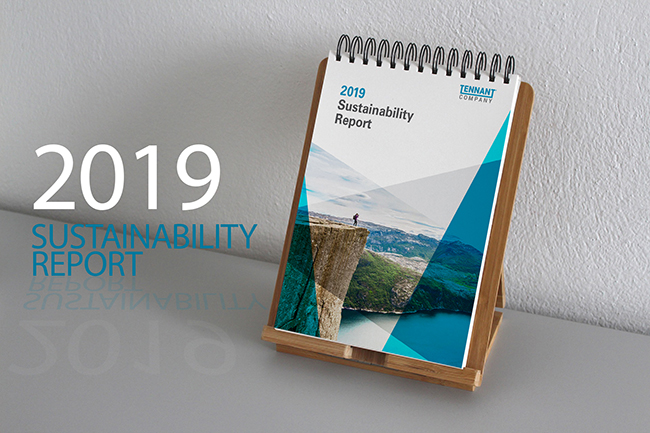 Scarica il Tennant Sustainability Report 2019