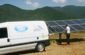 Macchine per il settore Fotovoltaico e Vetri