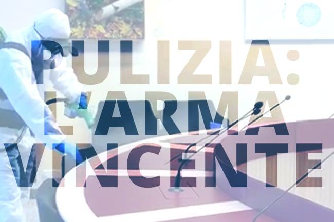 Pulizia: l'arma vincente per contenere le malattie infettive