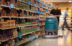 Macchine per la pulizia di Supermercati
