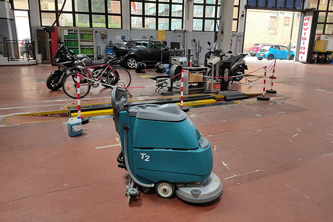 Tennant t2 in officina